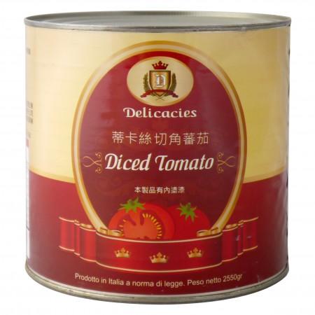 蒂卡絲切角蕃茄 2550g