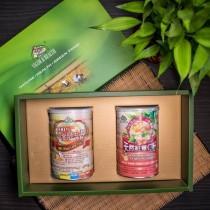 [禮盒]天然紅薏仁粉+小麥胚芽E