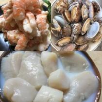 超值490海鮮組(握壽司蝦、文蛤、海瓜子)
