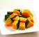 帶皮南瓜塊(3CM/1KG) [冷凍蔬菜]